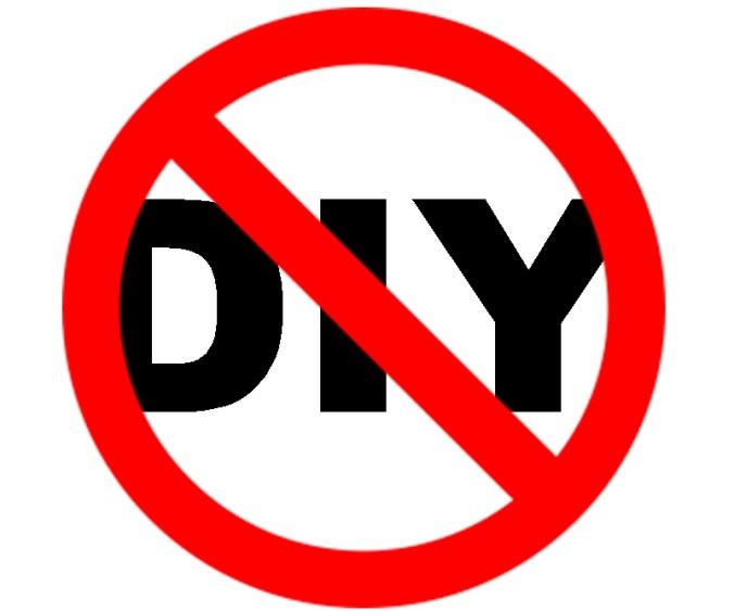 no-diy