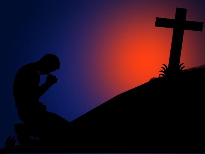 pray-kneel