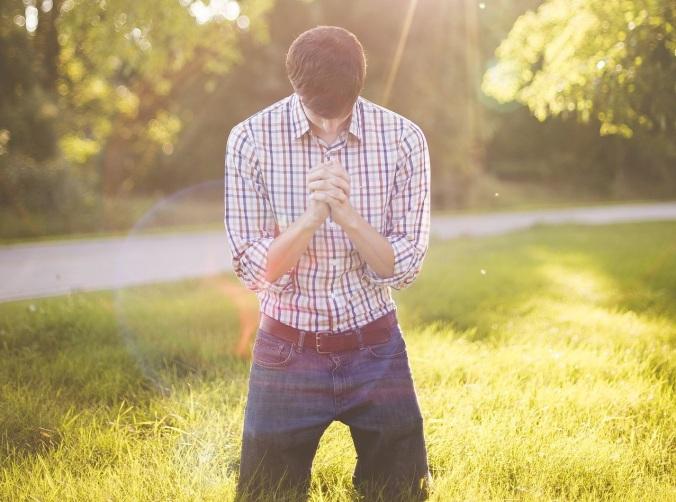 Praying Kneeling