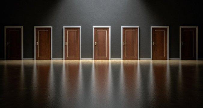 doors in line